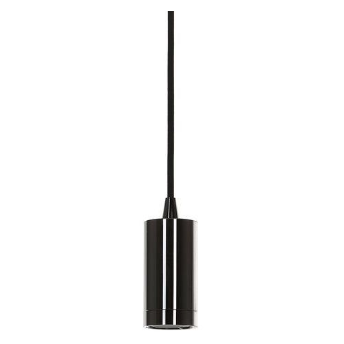Lampy sufitowe, Lampa wisząca Moderna 1 x 60 W E27 shiny black