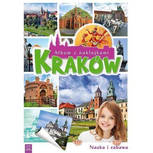 Książki dla dzieci, Album z naklejkami. Kraków (opr. broszurowa)