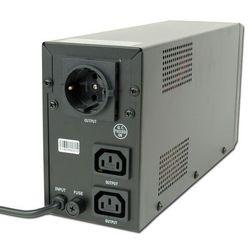 UPS Energenie by Gembird Line-In 650VA 2xIEC, 1xSCHUKO 230V, LCD