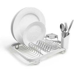 Stojak na naczynia Sinkin biały/nikiel