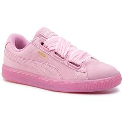 Sneakersy PUMA - Suede Heart Reset Wn's 363229 02 Prism Pink/Prism Pink