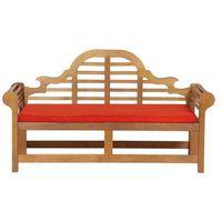 Poduszki, Poduszka jasnoceglasta - poducha - ogrodowa - do ławek Marlboro 180 cm
