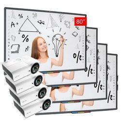 PAKIET 4 x ZESTAW: AVTek TT-Board 80 + Vivitek DX881ST + uchwyt WM1200 - PROMOCJA