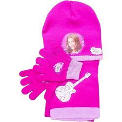 Komplet dla dzieci- czapka, szalik i rękawiczki z postaciami z filmu Violetta Czapki 19,90 zł (-50%)