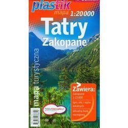 Tatry Zakopane mapa turystyczna - DODATKOWO 10% RABATU i WYSYŁKA 24H!