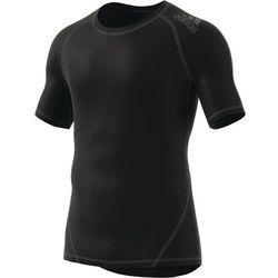 adidas Performance ALPHASKIN Tshirt basic black Przy złożeniu zamówienia do godziny 16 ( od Pon. do Pt., wszystkie metody płatności z wyjątkiem przelewu bankowego), wysyłka odbędzie się tego samego dnia.