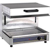 Grille gastronomiczne, Salamander elektryczny z ruchomą głowicą, 3 kW, 600x510x550 mm   ROLLER GRILL, 777351