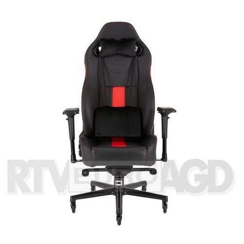 Fotele dla graczy, Fotel CORSAIR T2 Road Warrior Czarno-czerwony DARMOWY TRANSPORT