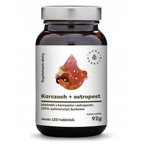 Leki na wątrobę, Karczoch + Ostropest plamisty + Kurkuma 20 tabl.
