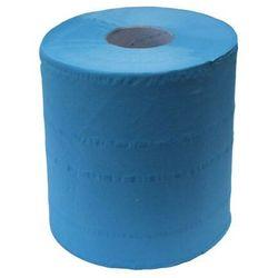 Ręcznik papierowy w roli Merida Top Niebieski Mini, 2 warstwy, 122 m, celuloza - 6 rolek