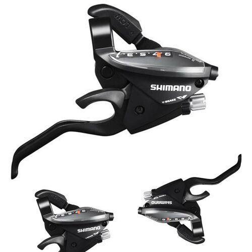 Manetki i przerzutki, Dźwignie zespolone SHIMANO ST-EF510 ALTUS - 3x9 czarne