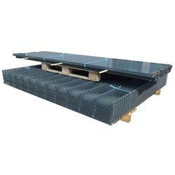 vidaXL Panele ogrodzeniowe 2D z słupkami 2008x1030 mm 2 m Szare Darmowa wysyłka i zwroty