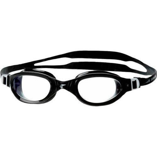 Okularki pływackie, Okulary Speedo FUTURA plus black/clear - Czarny