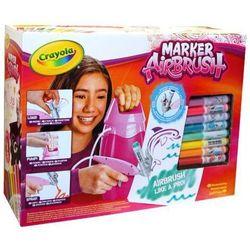 Marker CRAYOLA Airbrush magiczne malowanie dla dziewczynek + DARMOWY TRANSPORT!