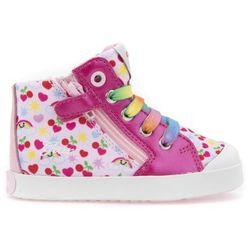 Geox KILWI GIRL Tenisówki i Trampki wysokie pink/multicolour