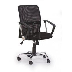 Fotel pracowniczy Tony czarny - gwarancja bezpiecznych zakupów - WYSYŁKA 24H