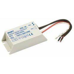 Transformator do taśmy LED (TANGO, RUEDA) ZOL 16/10V-16W