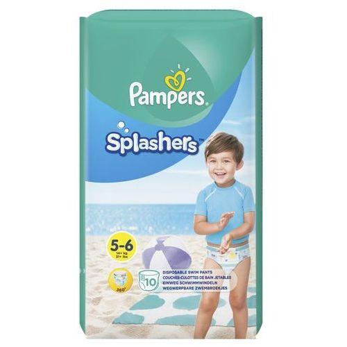 Majtki dziecięce, Pampers Splashers, R5-6, 10 jednorazowych pieluch do pływania