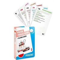Książki do nauki języka, Polish phrase book and Playing cards 2in1 - KINGA PERCZYŃSKA (opr. twarda)