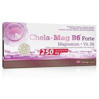 Witaminy i minerały, Magnez Olimp Chela-Mag B6 FORTE 60 kaps. Wysoka dawka 22685