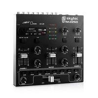 Zestawy i sprzęt DJ, Skytec STM-2250 4-kanałowy mikser USB SD MP3 FX