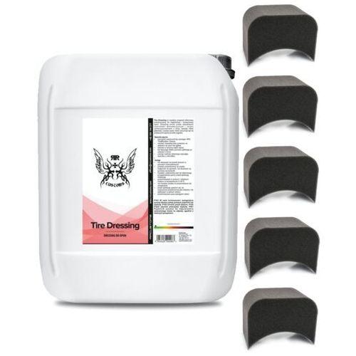 Środki czyszczące do opon i felg, RRC Tire Dressing 5l do opon + aplikatory