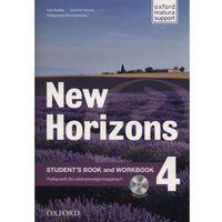 Książki do nauki języka, Horizons NEW 4 SB + WB OXFORD - Paul Radley, Daniela Simons, Colin Campbell (opr. broszurowa)
