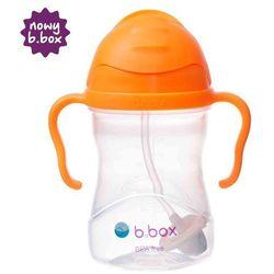 B.BOX *NOWY* innowacyjny bidon ze słomką b.box pomarańczowy | szybka