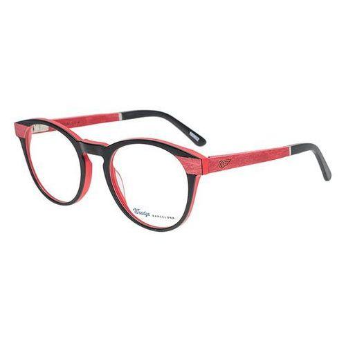 Okulary korekcyjne, Okulary Korekcyjne Woodys Barcelona Dracula 01