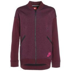 Nike Performance TECH Bluza rozpinana bordeaux/heather/bordeaux/active pink
