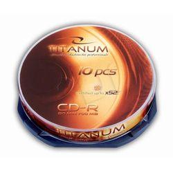 Esperanza CD-R TITANUM 700MB/80min-Cake Box 10 52X Szybka dostawa! Darmowy odbiór w 19 miastach!