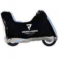 Pokrowce motocyklowe, Rebelhorn pokrowiec na motocykl cover ii black/sil
