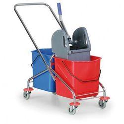Wózek do sprzątania metalowy