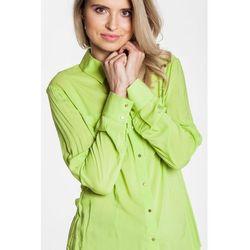 Zielona koszula z długim rękawem - Duet Woman