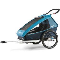 Croozer Kid Plus For 2 Przyczepka rowerowa niebieski/czarny 2019 Przyczepki dla dzieci Przy złożeniu zamówienia do godziny 16 ( od Pon. do Pt., wszystkie metody płatności z wyjątkiem przelewu bankowego), wysyłka odbędzie się tego samego dnia.