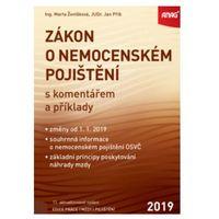 Pozostałe książki, Zákon o nemocenském pojištění s komentářem a příklady 2019 Marta Ženíšková