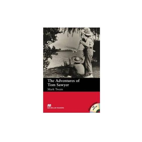 Książki do nauki języka, Macmillan Readers, Beginner: The Adventures Tom Sawyer + CD Audio (opr. miękka)