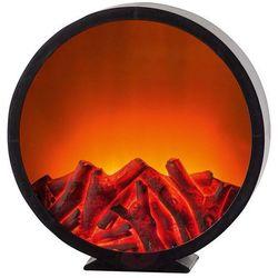 Lampa kominkowa LED z efektem płomienia Ø 32 cm