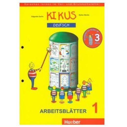 Książki do nauki języka, Kikus Deutsch Arbeitsblatter 1 (opr. miękka)