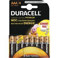 Baterie, Bateria DURACELL Basic LR03/AAA (8 szt.)