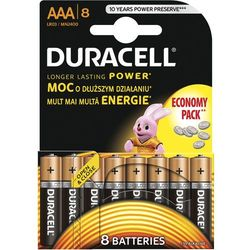 Bateria DURACELL Basic AAA 8 szt.