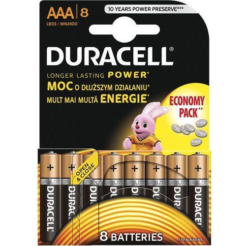 Baterie, Bateria DURACELL Basic AAA 8 szt.