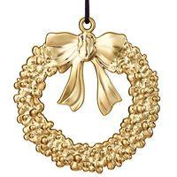 Ozdoby świąteczne, Ozdoba świąteczna Rosendahl Karen Blixen wieniec złoty