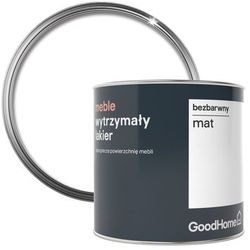 Lakier do renowacji mebli GoodHome bezbarwny mat 0 5 l