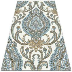 Modny uniwersalny dywan winylowy Modny uniwersalny dywan winylowy Tekstura Paisley