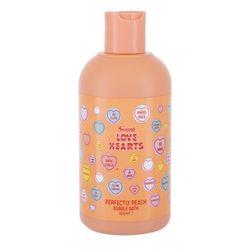 Swizzels Love Hearts Perfectly Peach pianka do kąpieli 400 ml dla dzieci