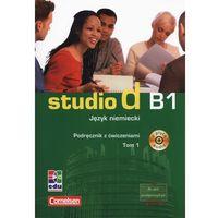 Książki do nauki języka, Studio d B1. Język niemiecki. Podręcznik z ćwiczeniami. Tom 1 + CD. 82/5/2013 - książka (opr. miękka)