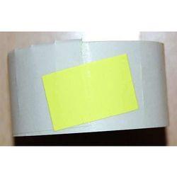 Rolka do metkownicy dwurzędowej - 2,6x1,6cm żółta prosta