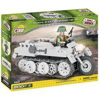 Klocki dla dzieci, Small Army 200 elementów Kettenkrad niemiecki pojazd wielozadaniowy - Cobi Klocki. DARMOWA DOSTAWA DO KIOSKU RUCHU OD 24,99ZŁ