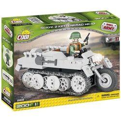 Small Army 200 elementów Kettenkrad niemiecki pojazd wielozadaniowy - Cobi Klocki. DARMOWA DOSTAWA DO KIOSKU RUCHU OD 24,99ZŁ